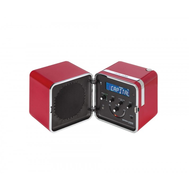 radio.cubo ts522D+S - Rosso